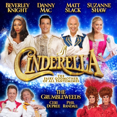 THE GRUMBLEWEEDS are in CINDERELLA at Birmingham Hippodrome