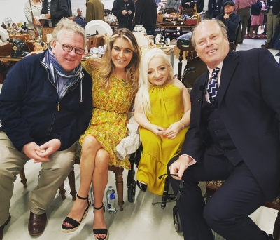 GEMMA OATEN films Antiques Road Trip