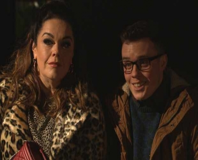 Lisa Riley is back to stay permanently in EMMERDALE as Mandy Dingle