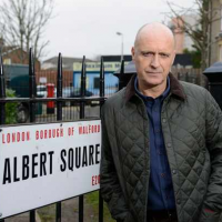 Paul Usher films Eastenders