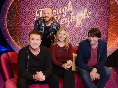 SHANE RICHIE is on the panel for THROUGH THE KEYHOLE