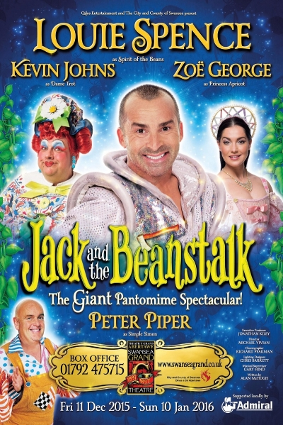 Peter Piper in 'Jack & the Beanstalk'