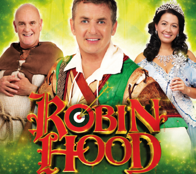SHANE RICHIE & PETER PIPER are in this years Woking's panto 'ROBIN HOOD'