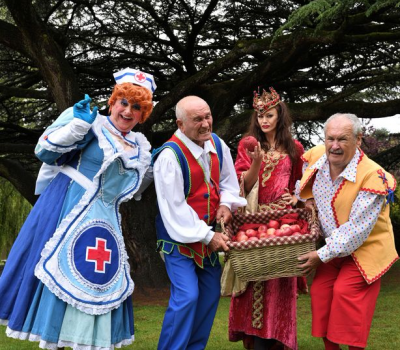 Don't miss CANNON & BALL and MALCOLM LORD in Snow White and the Seven Dwarfs at Crewe