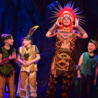Wayne Smith performs at the Theatre Royal in Peter Pan