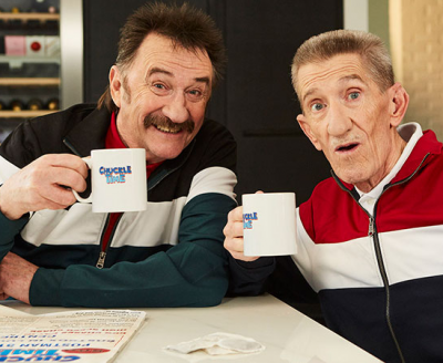"THE CHUCKLE BROTHER'S star in brand new comedy ""ChuckleTime"""