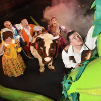 "MALCOLM LORD stars alongside GEORGE SAMPSON in ""Jack & the Beanstalk"""