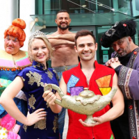 DARREN CLEWLOW- SMITH will be staring in Aladdin at Palace Theatre, Redditch