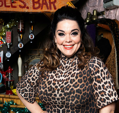 LISA RILEY returns to Emmerdale