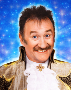 PAUL CHUCKLE plays Baron Hardup in Cinderella.